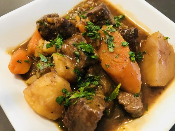 Beef Stew In The Instant Pot!