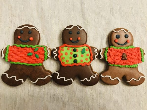 Iced Gingerbread Men Cookies