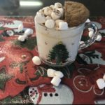 Gingerbread White Hot Chocolate!