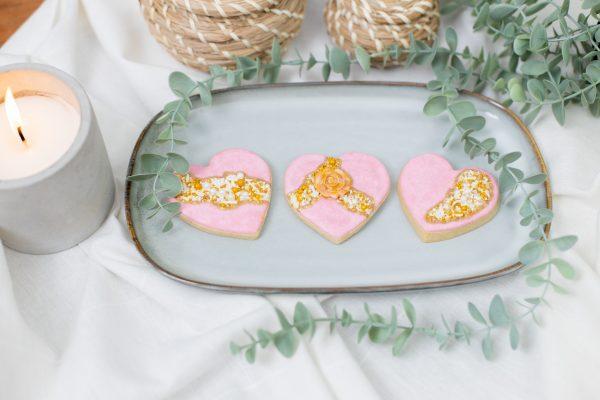 Fault Line Heart Cookies