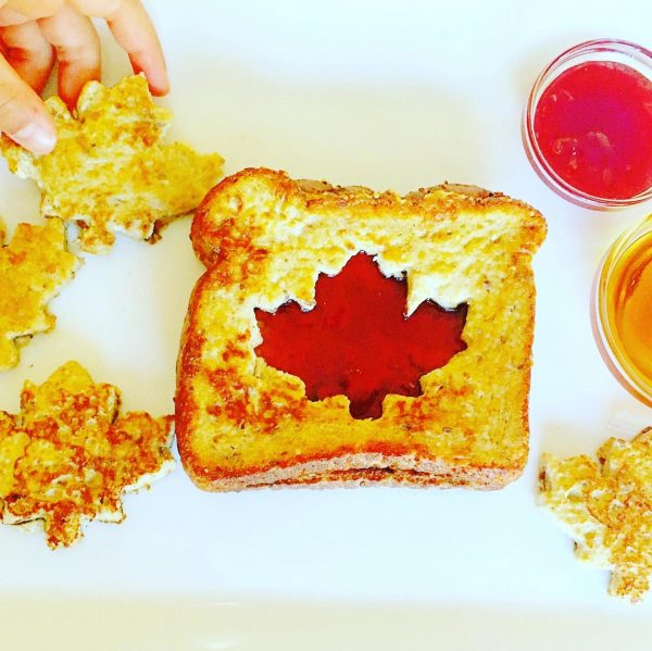 Canada Day French Toast